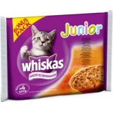 WHISKAS 4x100gr JUNIOR